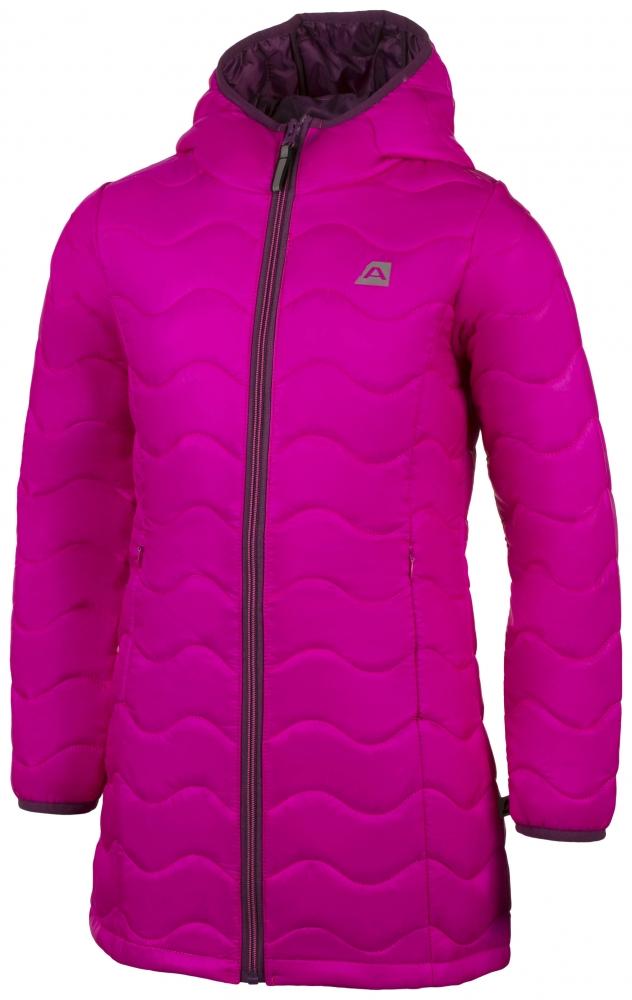 Dětský zateplený kabát Alpine Pro Bircho 128-134