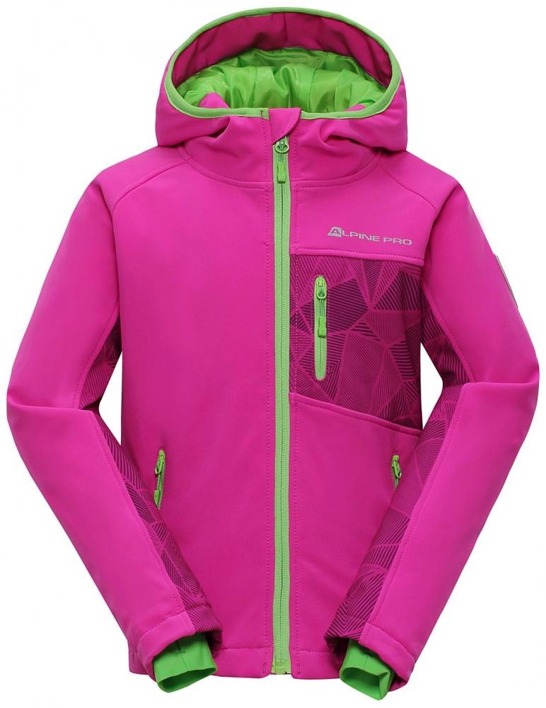 Dětská softshellová bunda Alpine Pro Takho INS.|164-170