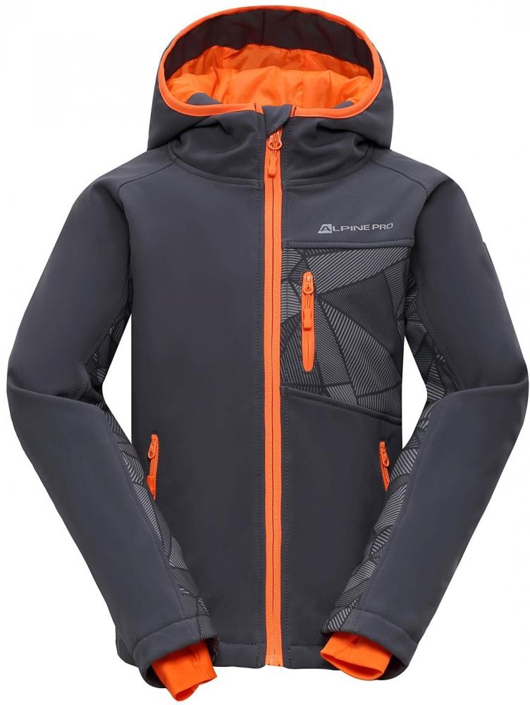 Dětská softshellová bunda Alpine Pro Takho INS.|152-158