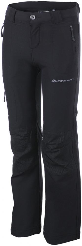 Dětské softshellové kalhoty Alpine Pro Popo|116-122