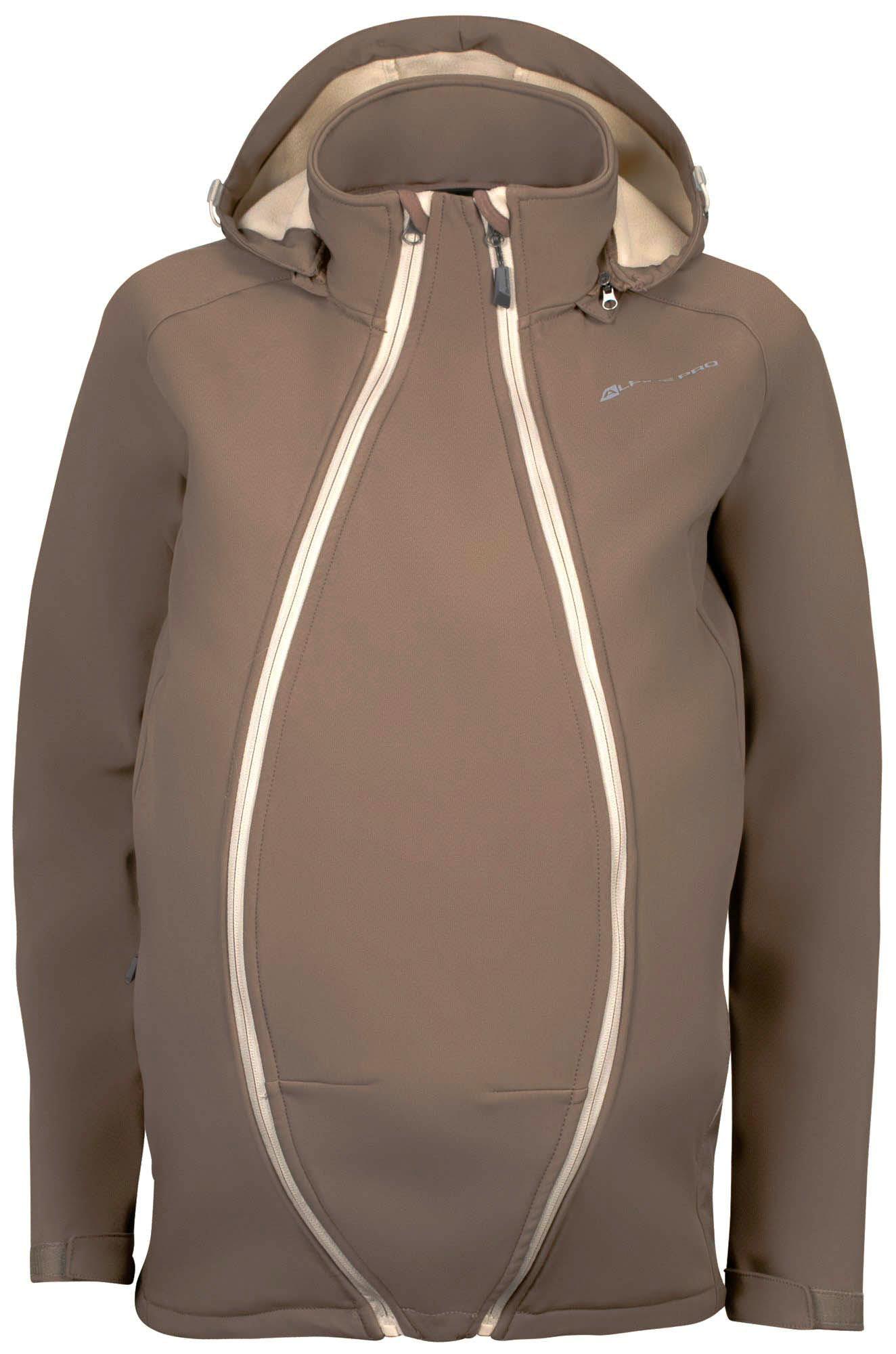 Oblečení   Dámská softshellová těhotenská bunda Alpine Pro Straita 33d9982572