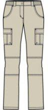 Dámské kalhoty Alpine Pro Alita|38
