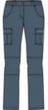 Dámské kalhoty Alpine Pro Alita|40