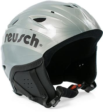 Lyžařská helma Reusch Marmolada silver|L