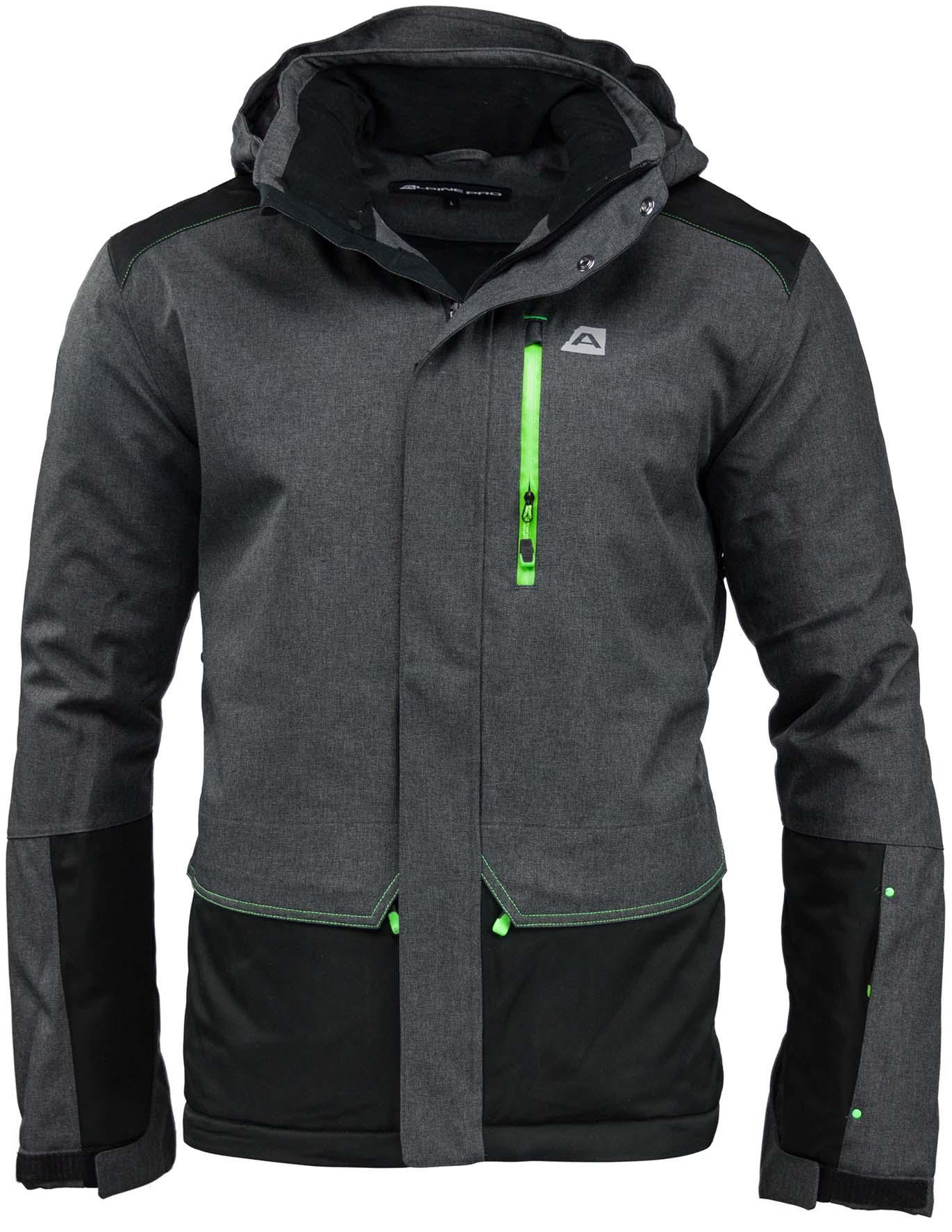 Pánská zimní bunda Alpine Pro Ocid|XXXL