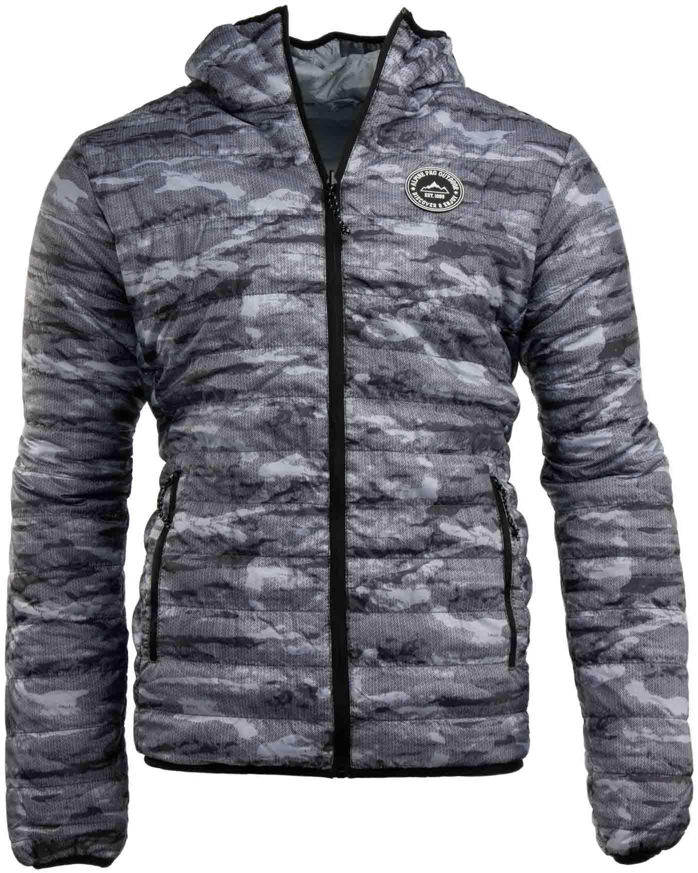 68ab9952403d Oblečení   Pánská oboustranná zimní bunda Alpine Pro Hoper
