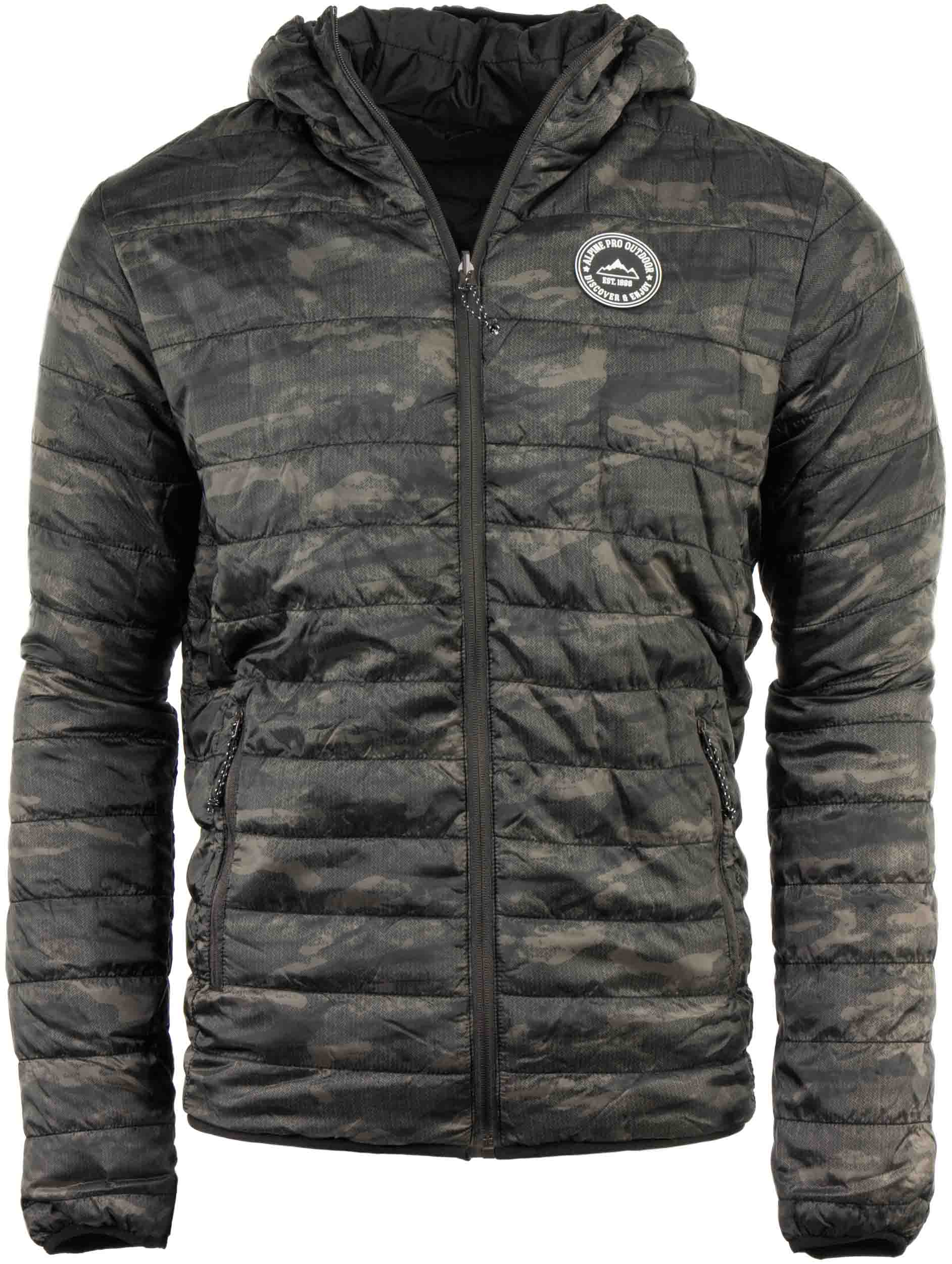 Oblečení   Pánská oboustranná zimní bunda Alpine Pro Hoper 18eeb93d7d8