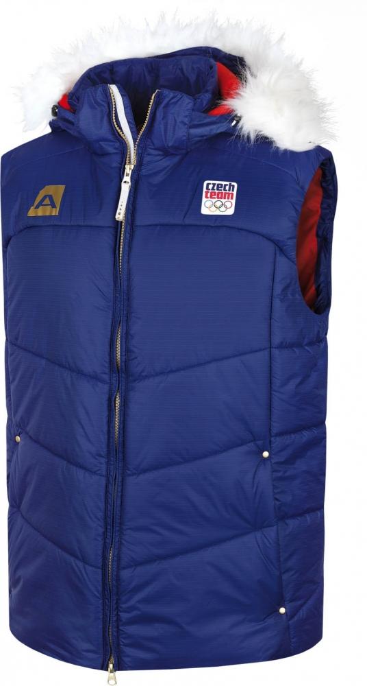 Pánská zimní vesta Alpine Pro OH Czech|XXL