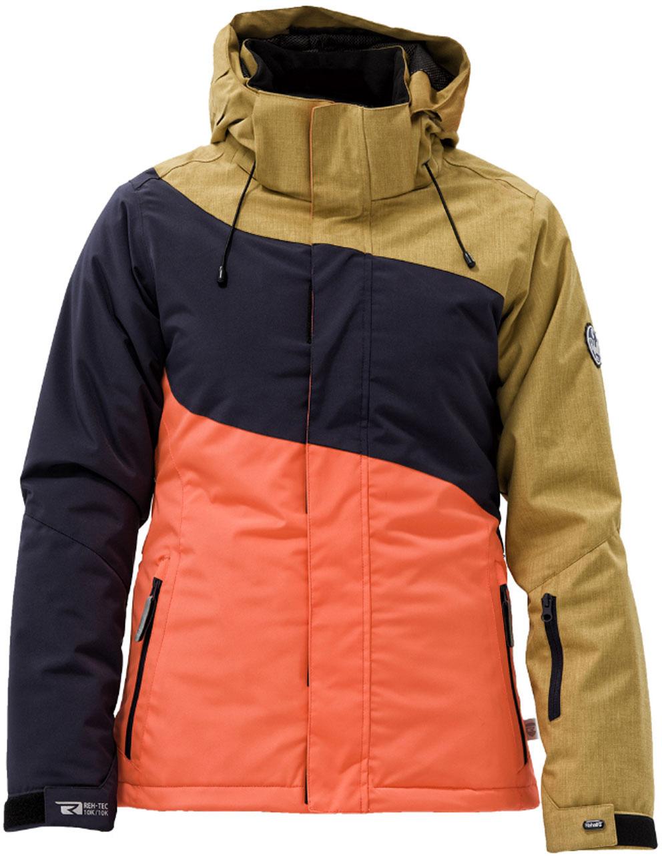 Dámská zimní bunda Rehall Honney Yellow|L